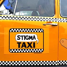 StigmaTaxi logo deur kever