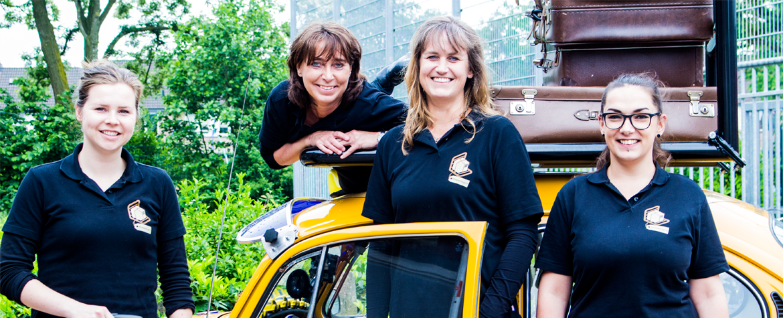 Stigmataxi teamfoto stichting de bagagedrager